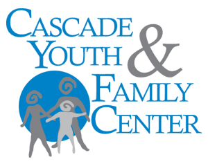 Cascade Youth and Family Center logo on page about moving to central oregon